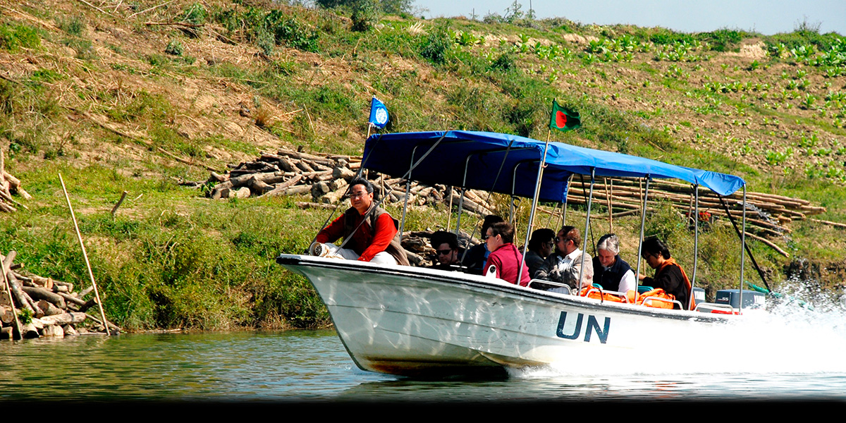 UN on the move - traversing the waterways